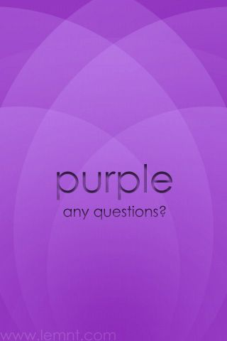 Purple..Any questions?....KSU Wildcats
