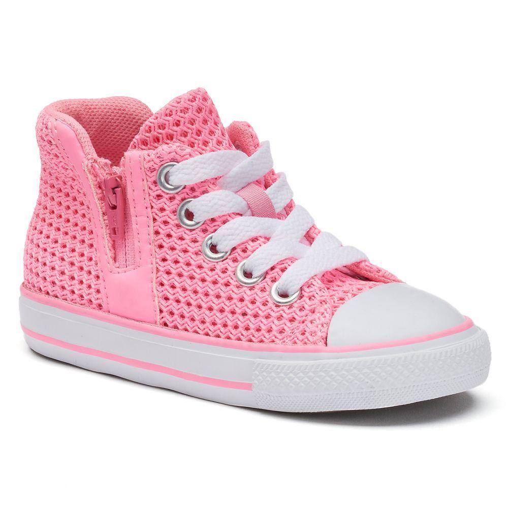 d4c5faec9ec4 Toddler Girls  Converse Chuck Taylor All Star Sport Zip High-Top Sneakers