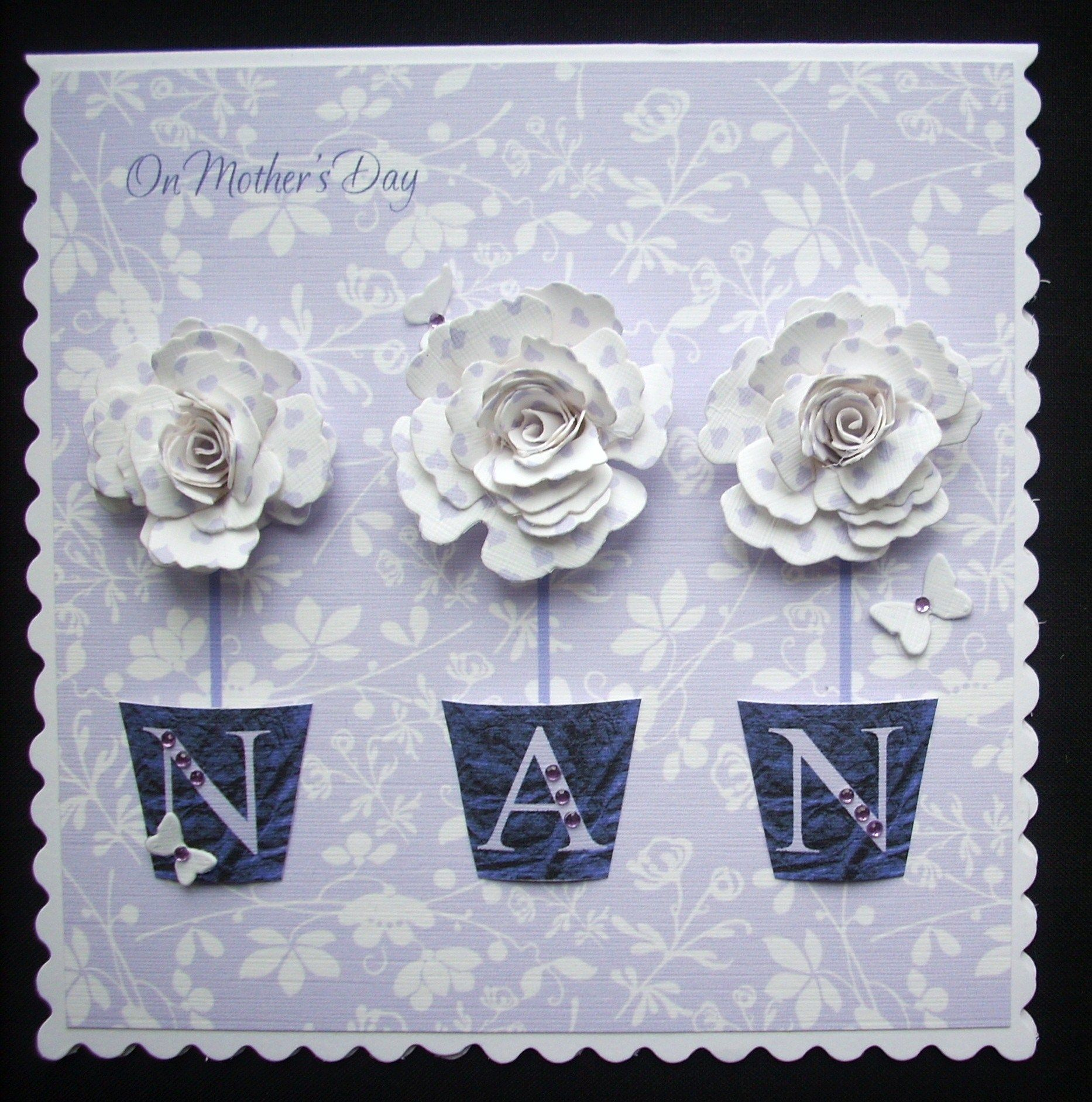 Order Code: 031309    This is one of my favourite boxed cards. I've made it in many different colours, for Mum, Nan, Ann, Sue, Pat & Ali, all have looked fab!