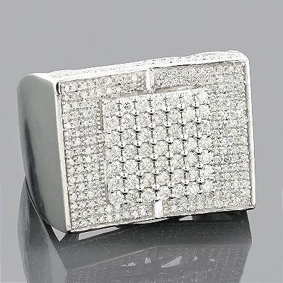 Jewelry & Watches Diamond Diamond Ring Mens 1.79 Ctw