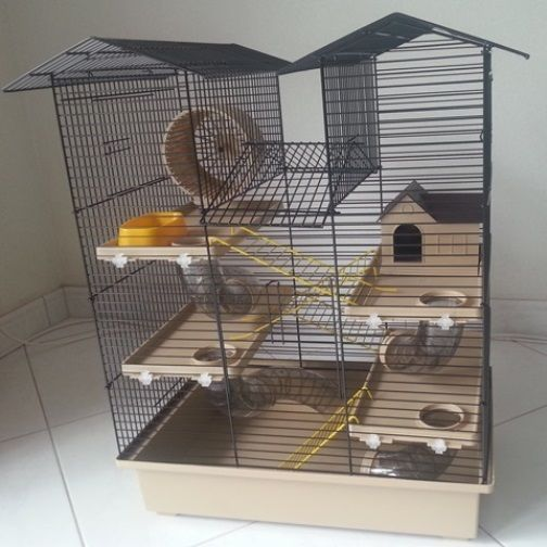 Sick Mouse Cage With Roof 3 Mouse Cage Hamster Cage Hamster House