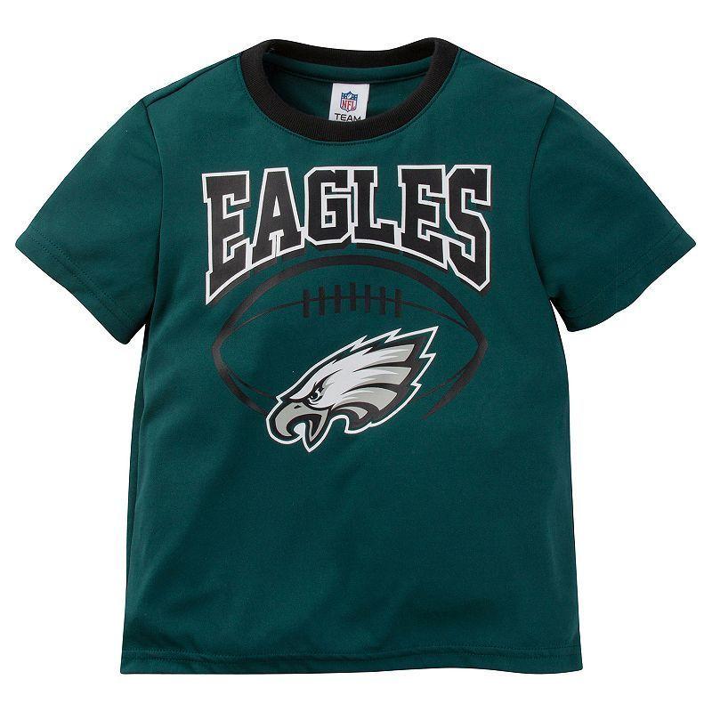 Toddler Philadelphia Eagles Team Colors Tee Eagles team