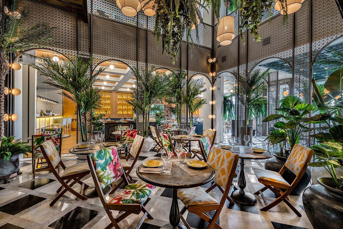 Cantinero De Cuba Restaurantes De Moda Hotel De Diseño Diseño Del Restaurante