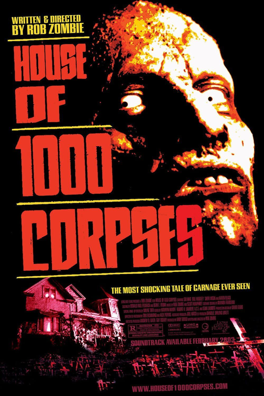 Watch House of 1000 Corpses FULL MOVIE ...