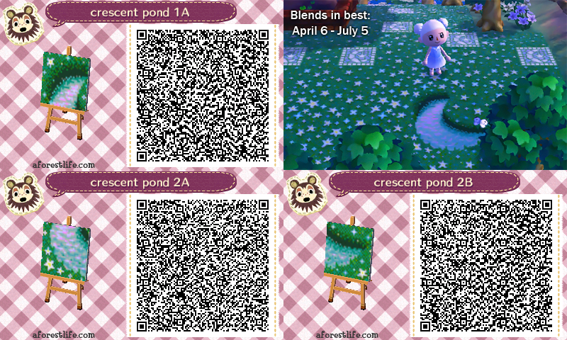 from aforestlife with matching starry grass and other qr
