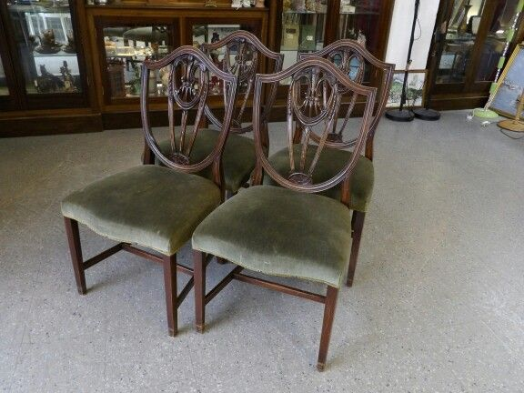 Sale Now On!! Set Of 4 Vintage Dining Chairs, £85 (PC343)