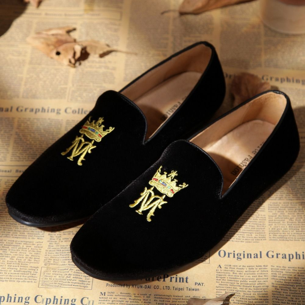 Velvet Scrunchies Quality Loafer Pumps Directly From China Jewellery Suppliers Monogram Custom Made Black Loafers Slippers For Men