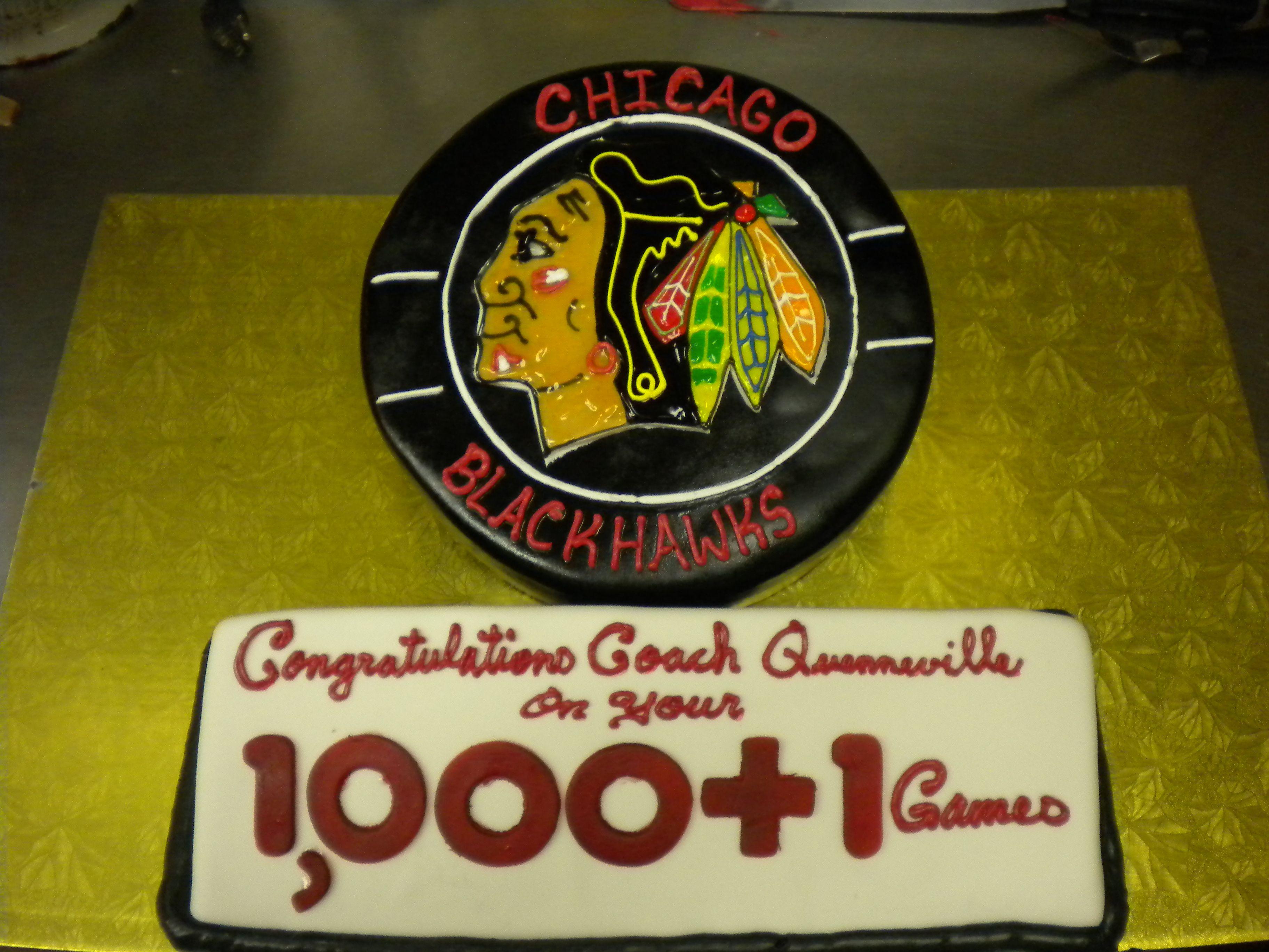 Blackhawks cake gladstone bakery 8472584201 elk grove
