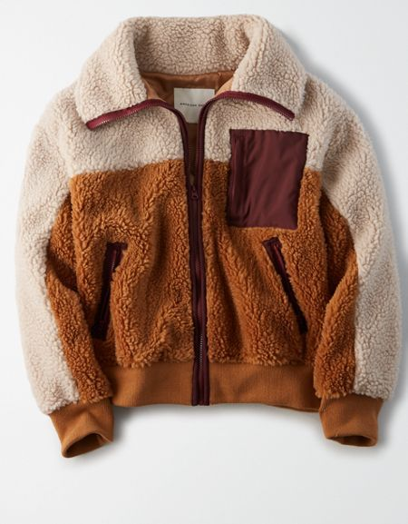 12+ Womens sherpa bomber jacket ideas