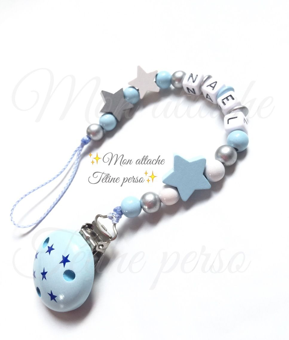 Blanc argent shamballa nœud cristal Bling Baby Romany Dummy sucette clip chaîne