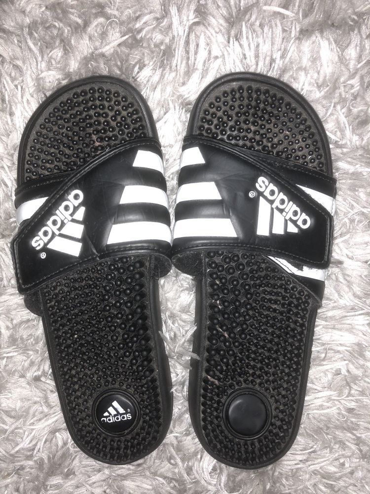 13d474304b30 Adidas Slides Womens Size 7  fashion  clothing  shoes  accessories   womensshoes