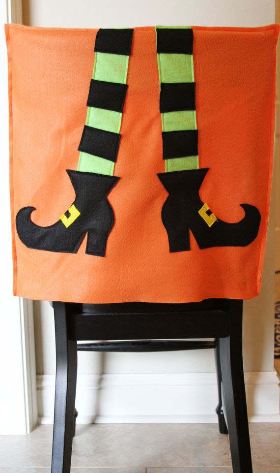 Cute Halloween Covers For Kitchen Chairs Etsy Halloween