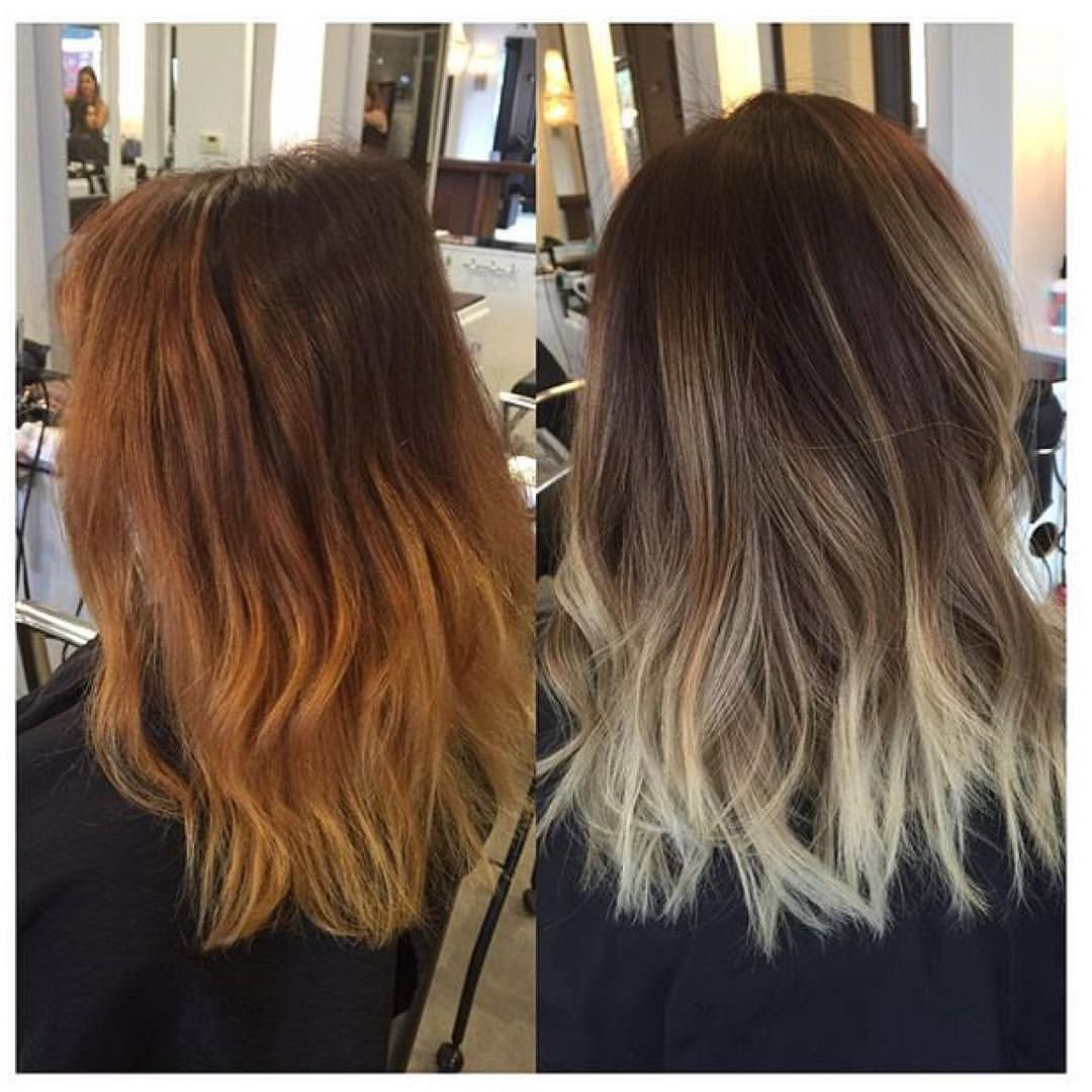 Trend Studios On Instagram Color Correction Before After By