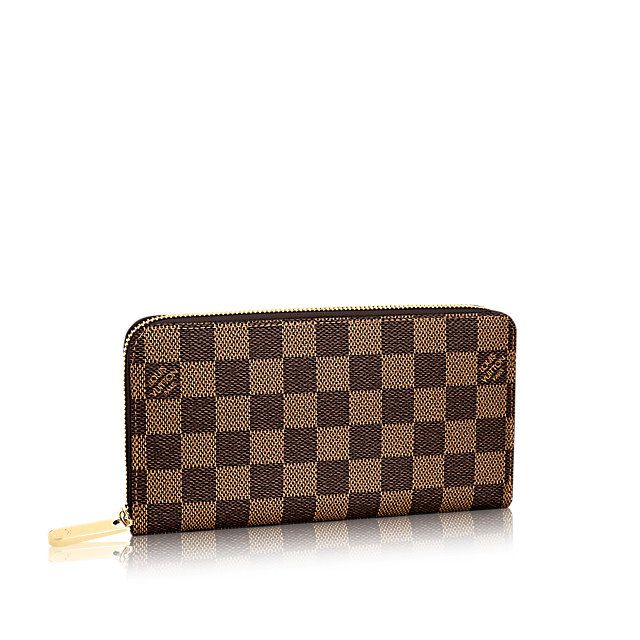 da0764e1556e2 LOUIS VUITTON ZIPPY WALLET ( DAMIER EBENE CANVAS )