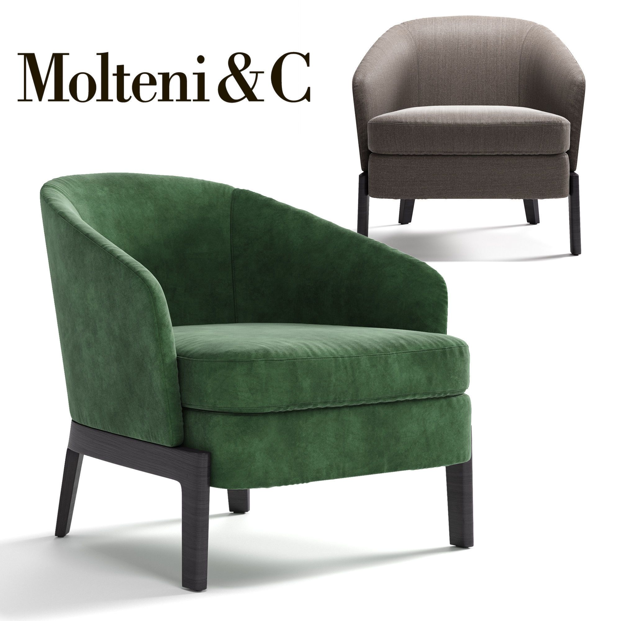 Molteni Chelsea Armchair 3d Model Armchair Furniture Furniture Living Room Sofa Design