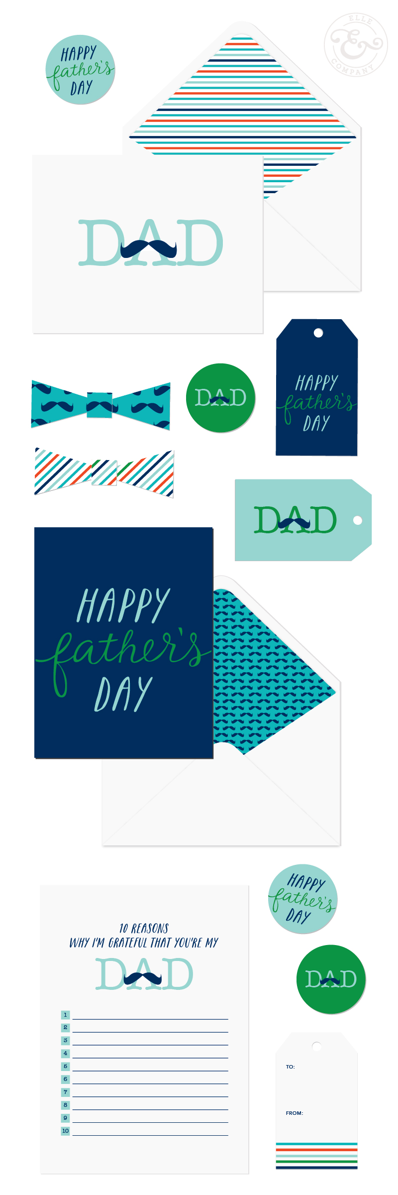 Fathers day printables free printable envelopes and cards free printable fathers day cards envelope liners gift tags and yes even negle Gallery