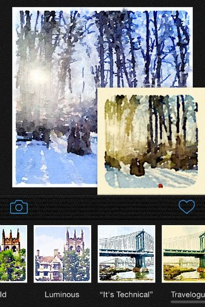 Turn Your Iphone Picture Into A Watercolor Painting In Seconds