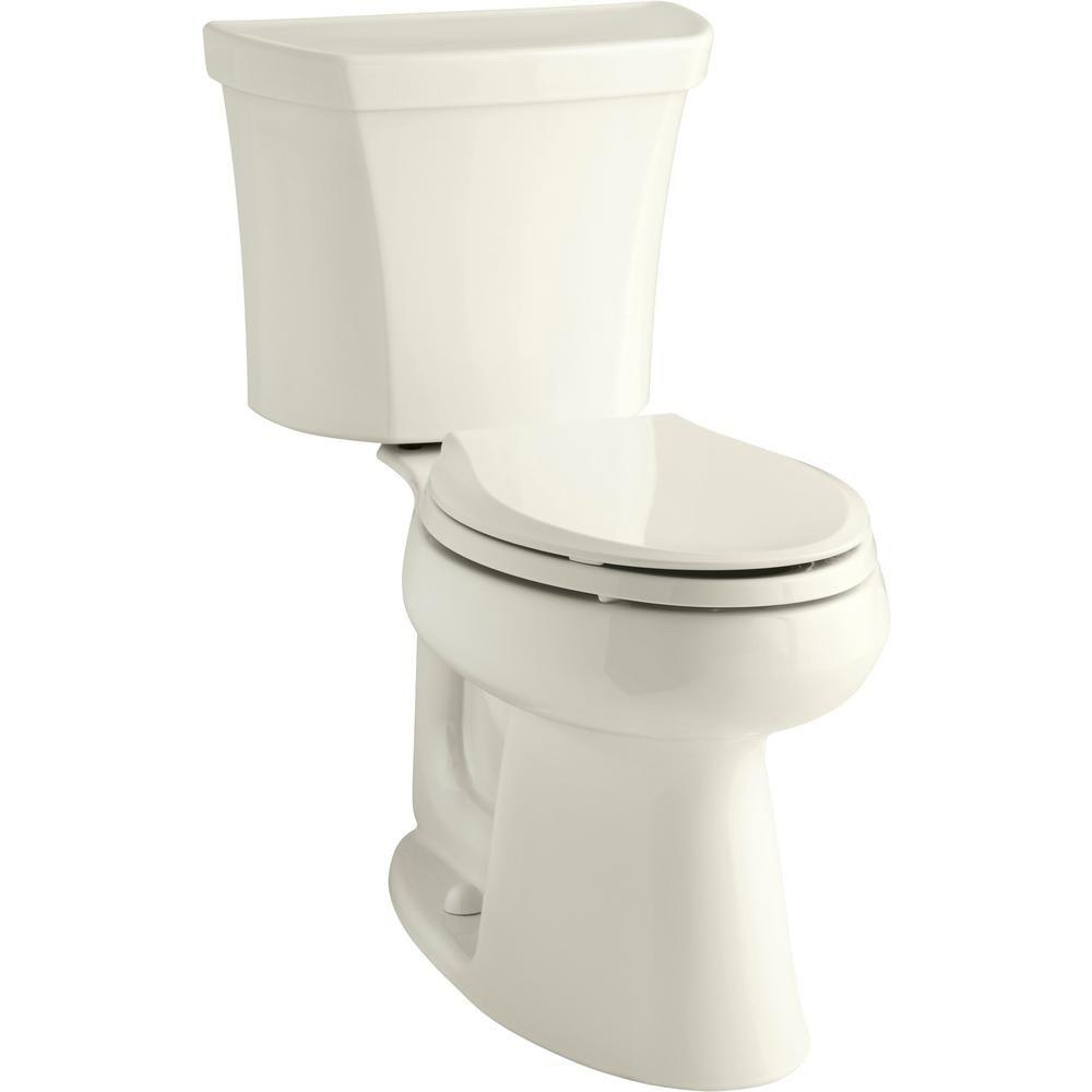 Kohler Highline 2 Piece 1 0 Gpf Single Flush Elongated Toilet In