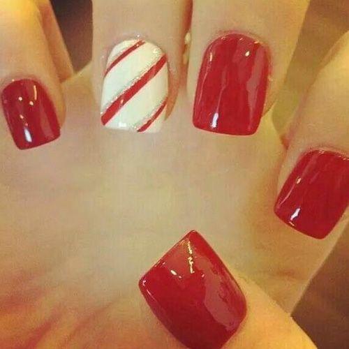 Diy christmas nail art 50 christmas nail designs you can do diy christmas nail art 50 christmas nail designs you can do yourself prinsesfo Image collections