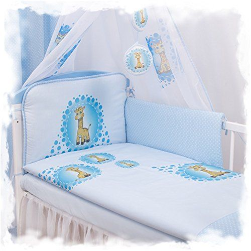 3 Stück Babybettwäsche Sets aus 100% Baumwolle 120x90cm (blaue Giraffe) sweetbabydream http://www.amazon.de/dp/B01BQC78YG/ref=cm_sw_r_pi_dp_2tf0wb1GTFDN1