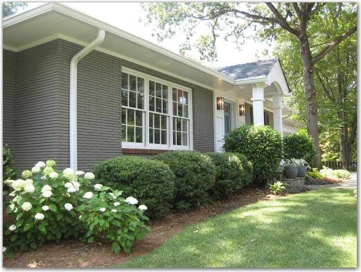 Exterior Paint Ranch Style House image result for painted brick house ideas | for the home