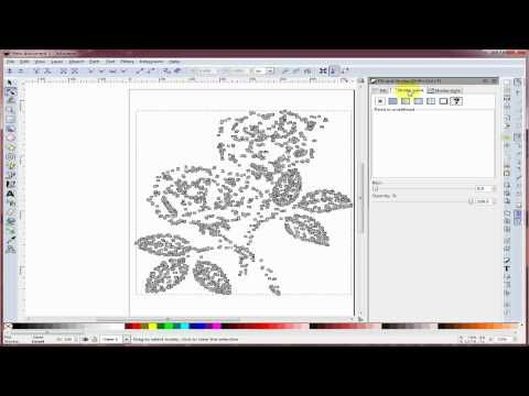 Trace Bitmap with Inkscape