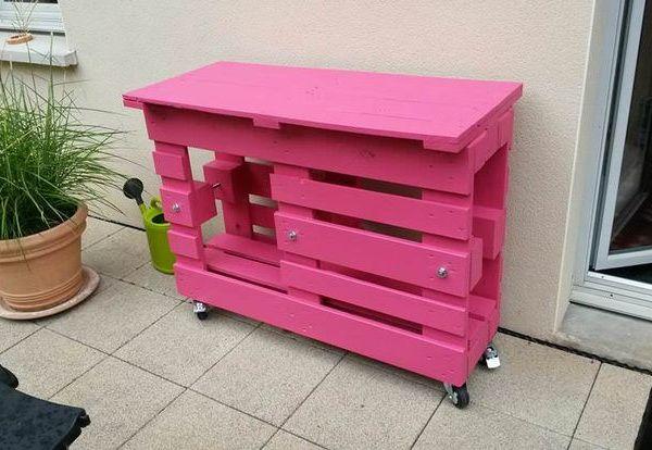 Más ideas de muebles hechos con palets de madera | Pallets, Pallet ...