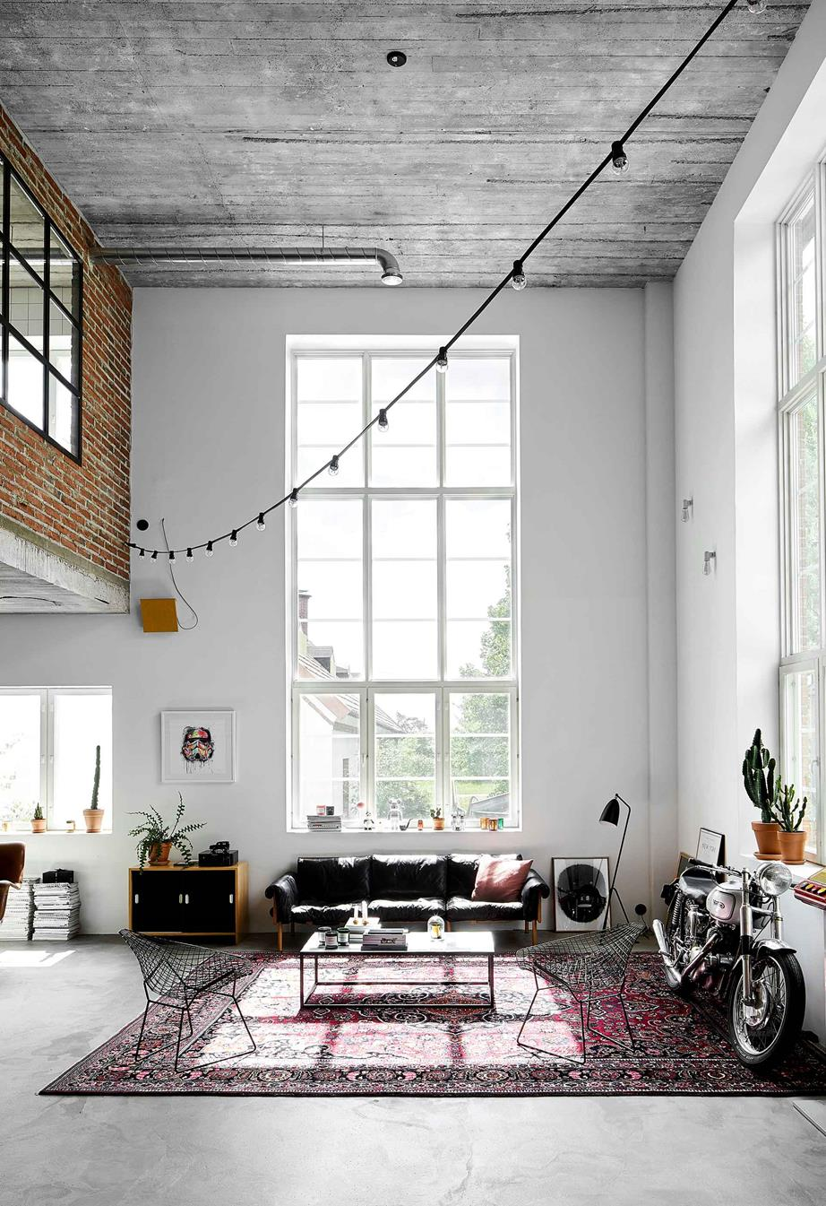 Photo of A ski factory's industrial chic loft home conversion