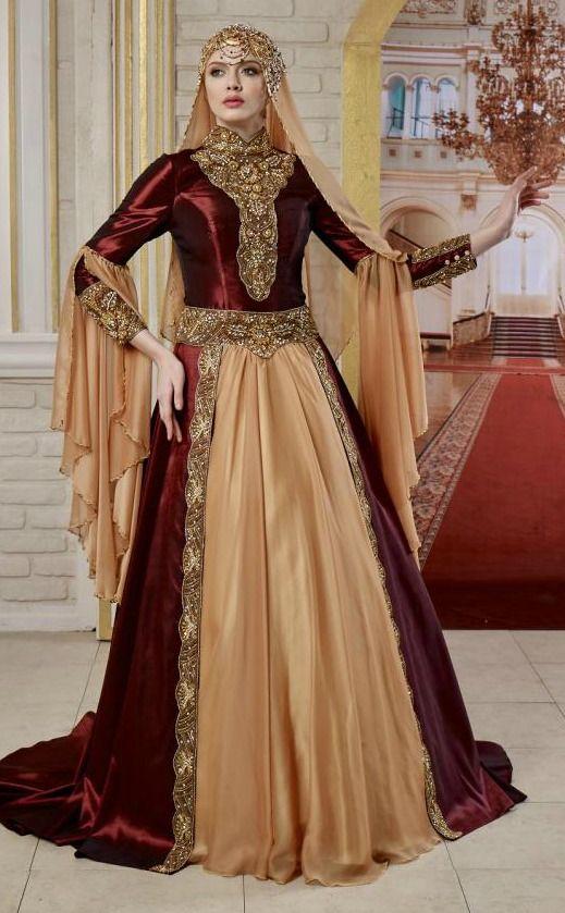 Tesettur Nisan Kina Elbisesi The Dress Moda Stilleri Elbiseler
