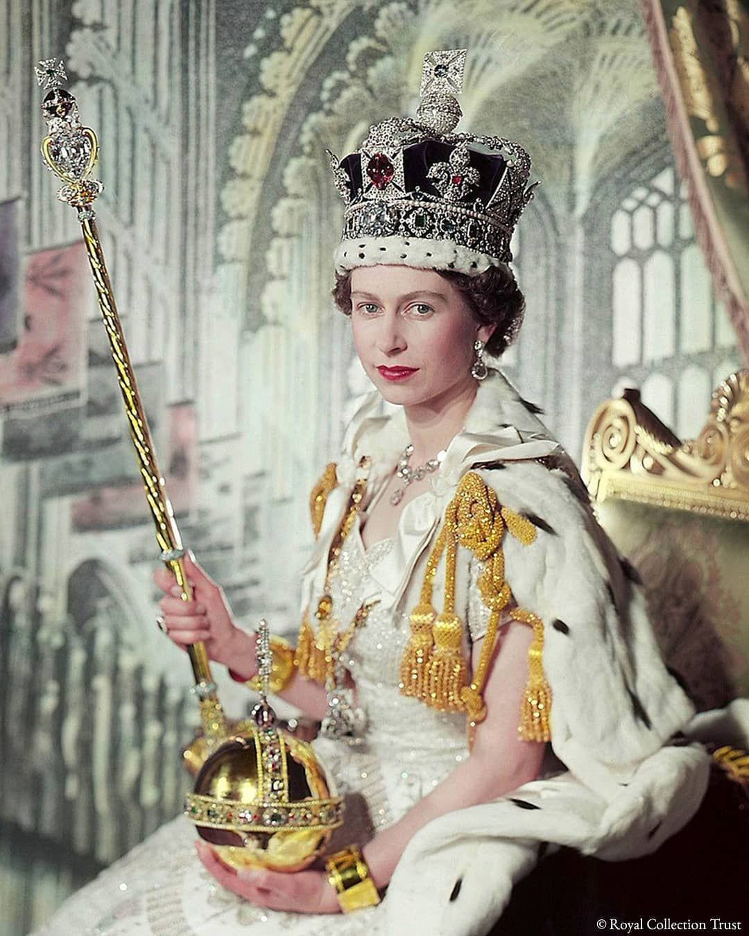 Queen Elizabeth Ii Fan Page On Instagram Today Marks The 67th Anniversary Of Her Majesty The Qu Queen S Coronation Her Majesty The Queen Queen Elizabeth Ii