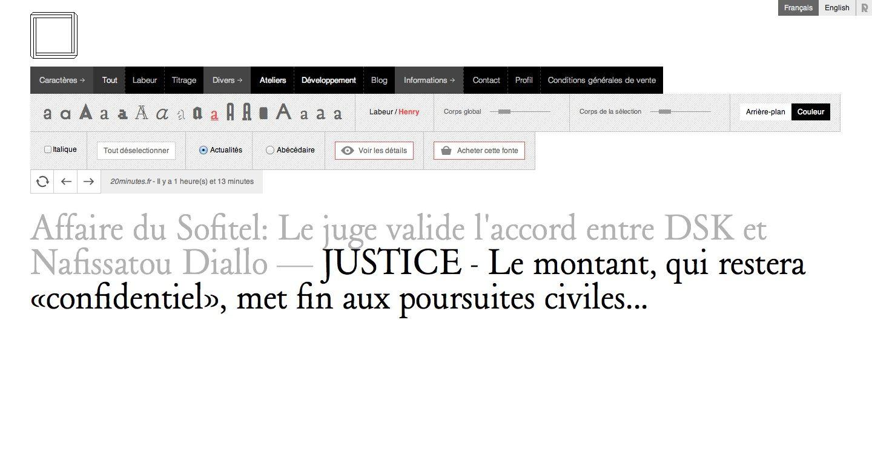 NONPAREILLE | Clean webdesign.