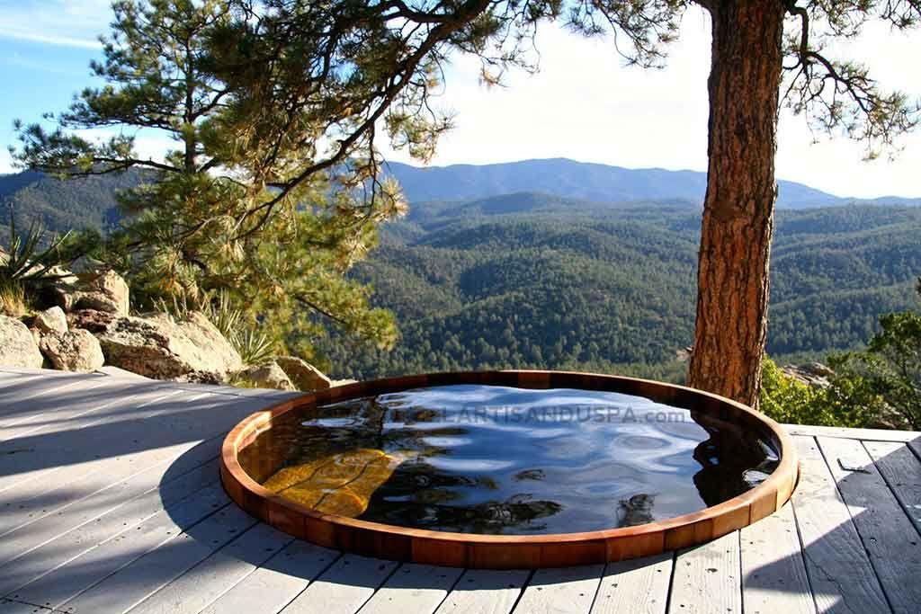 Concept de nos spas et bains en bois | L\'Artisan du Spa | Glamping ...