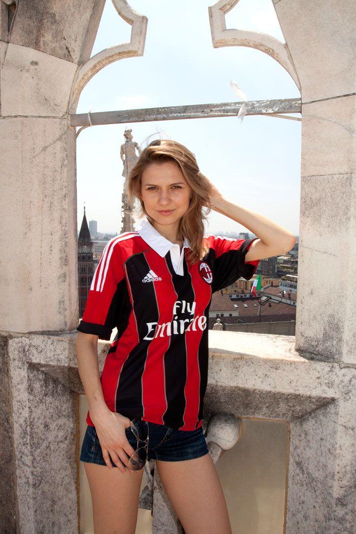 Ac Milan Girl  Football   Ac Milan, Miln, Ftbol-1570