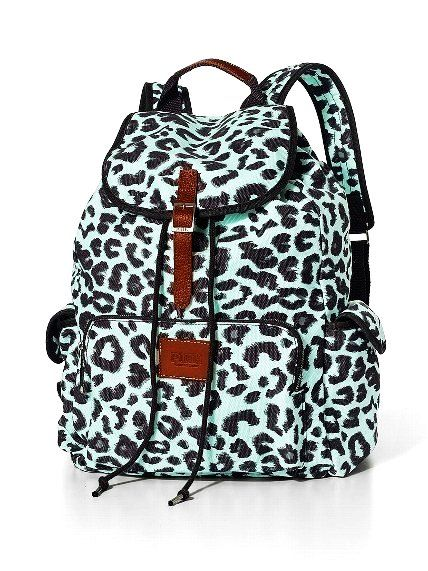Blue Leopard Backpacks for Girls - Leopard Backpacks for Girls ...