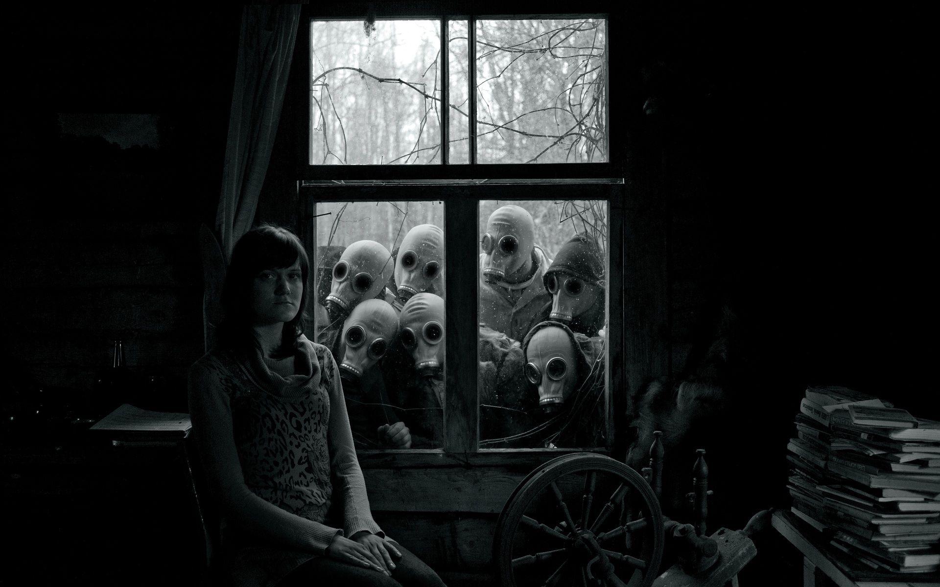 dark creepy basement. Gas Mask Swarm  Creepy PhotographyHorror PhotographyDark Story inspiration and Imagination