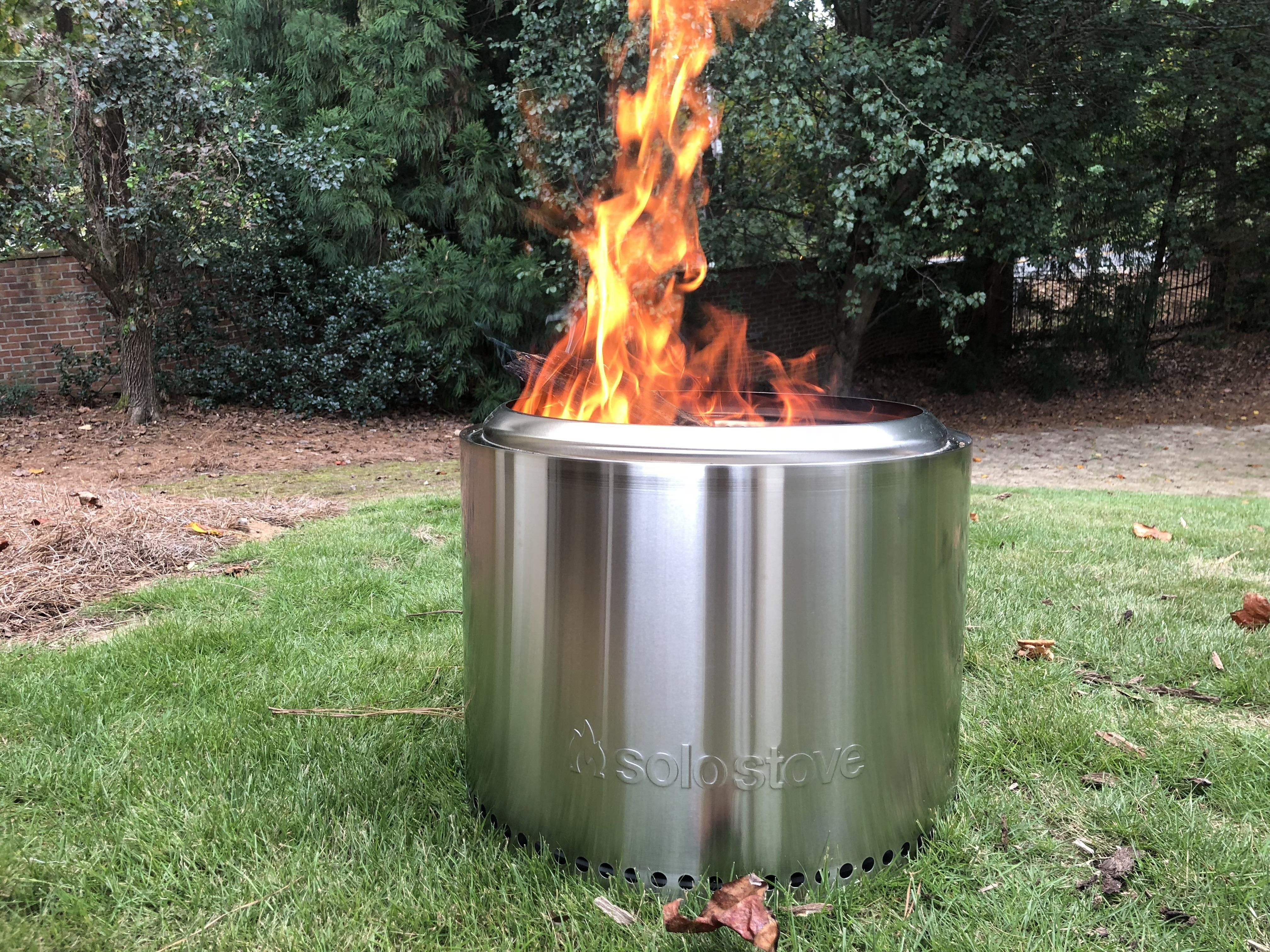 Bought the SoloStove bonfire. I was a little skeptical to