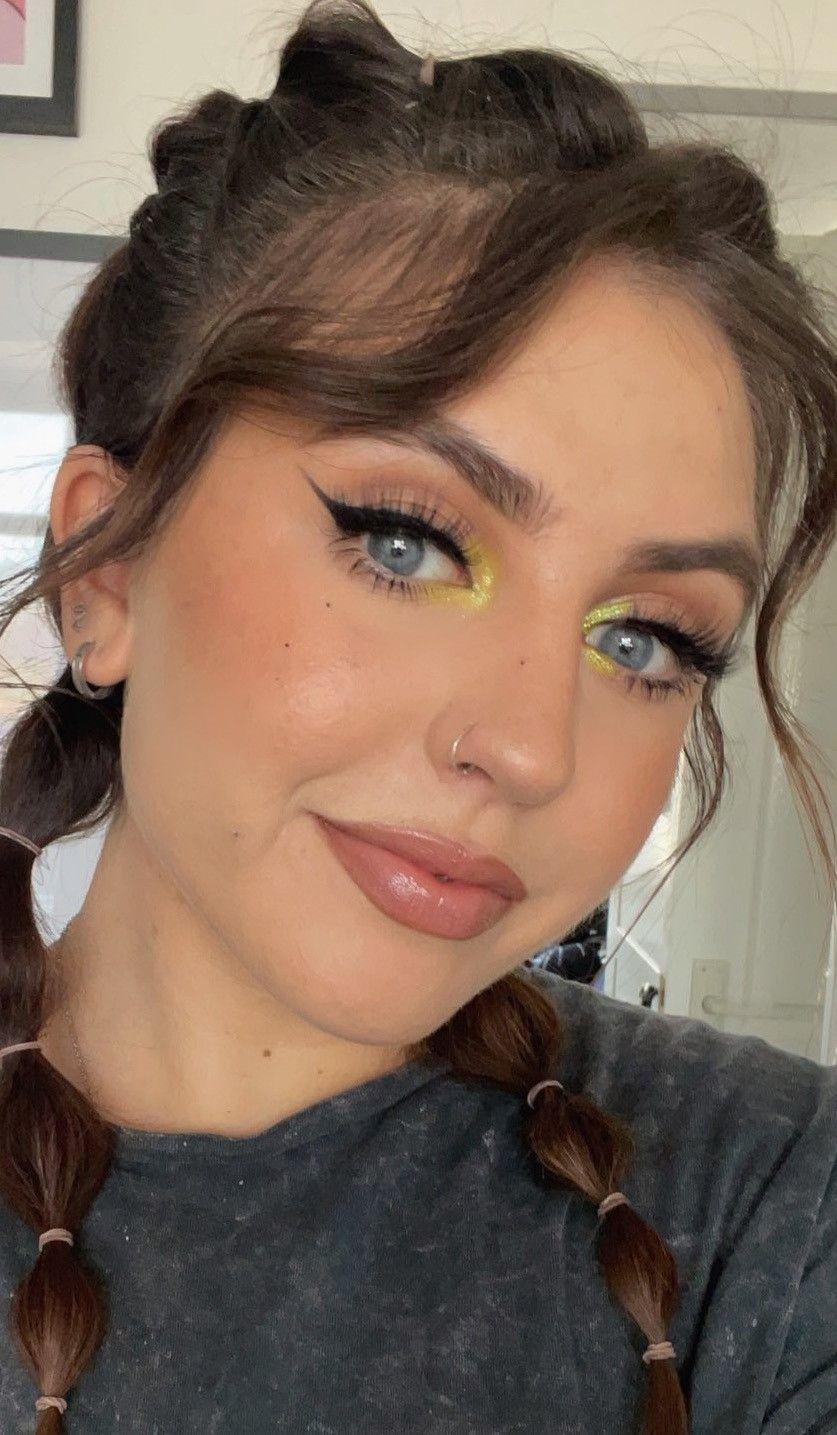Inner corner bright eyeshadow