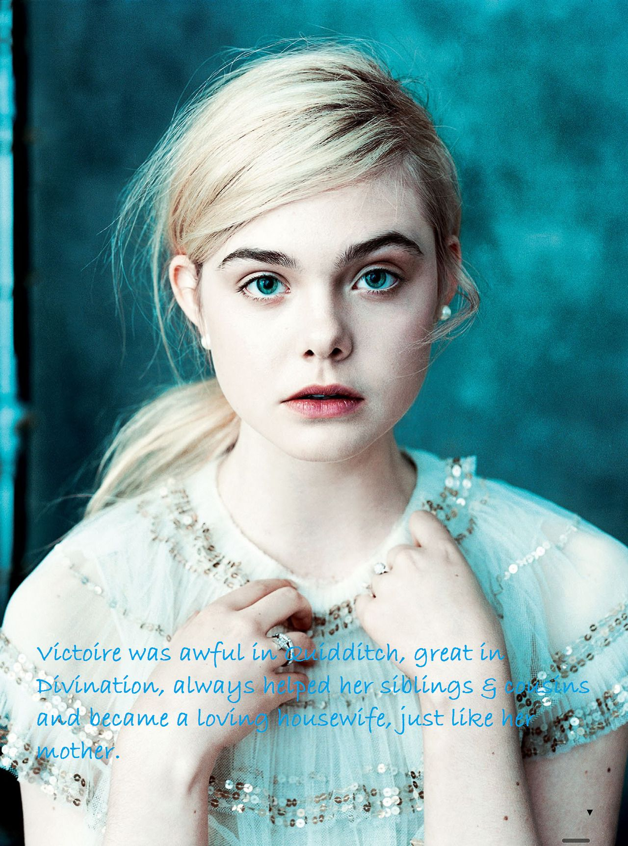 Harry Potter Next Generation Rose May Have Topped All Of Her Class Records Elle Fanning Harry Potter Next Generation Photography Poses Women