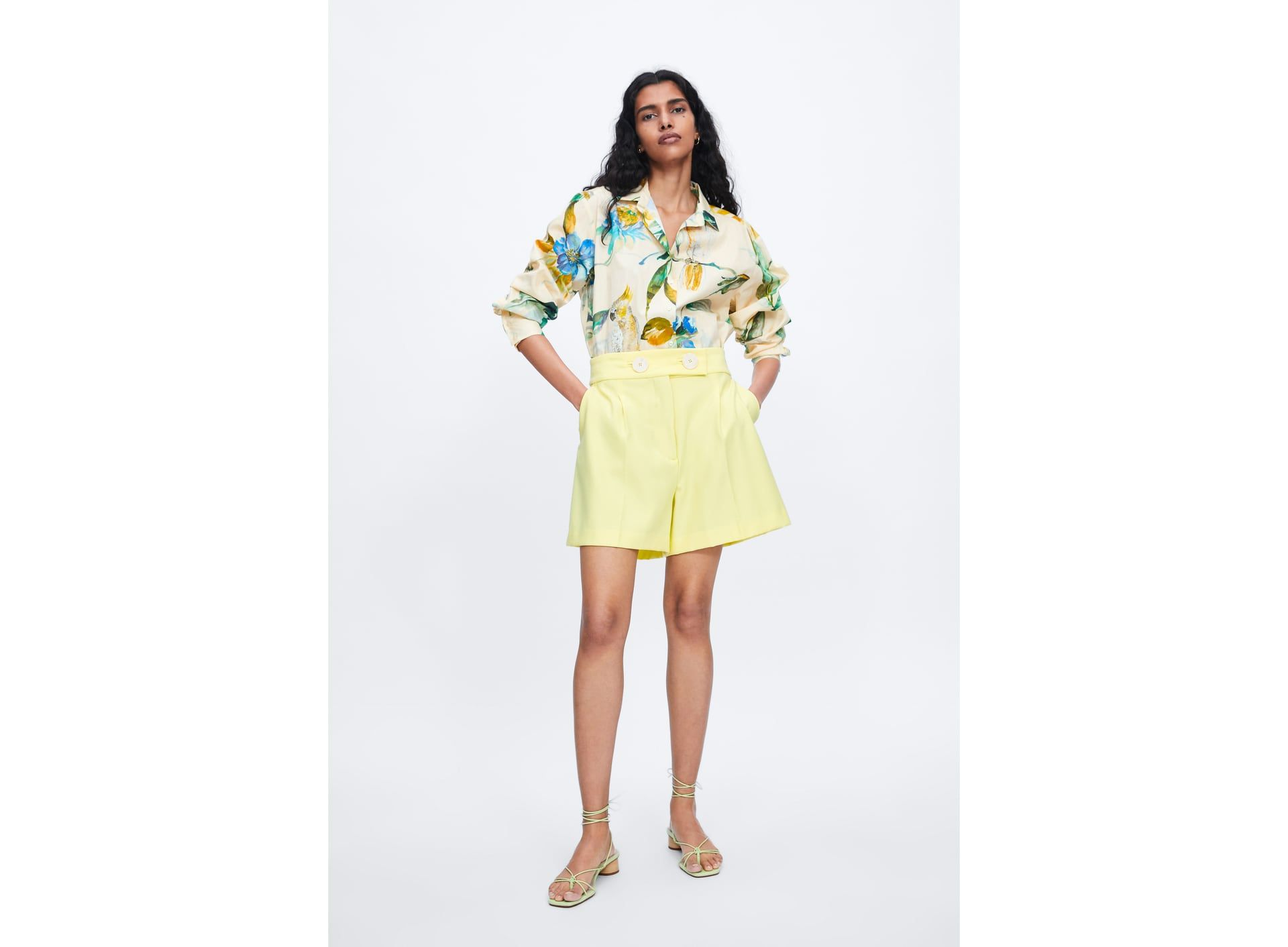 en venta faea5 6634c Pantalones cortos de mujer | Nueva Colección Online | ZARA ...