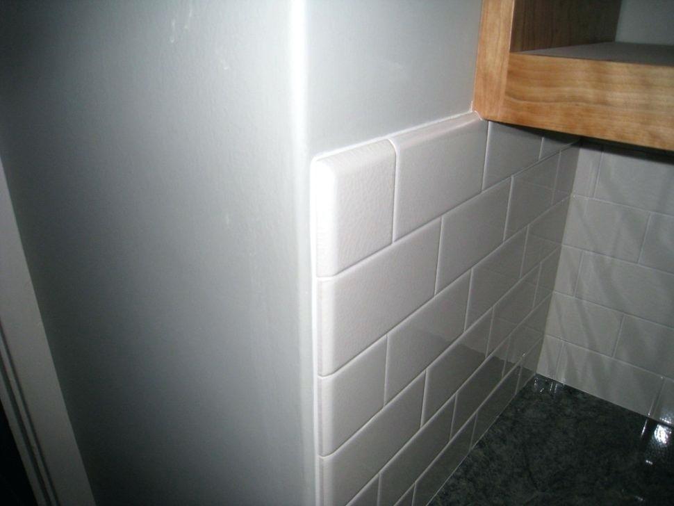 image result for tile edge trim ideas  diy backsplash