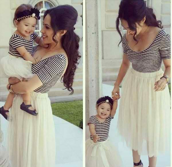 1fad4587d289 matching mother and daughter - Google Search | Mini moi | Mother ...