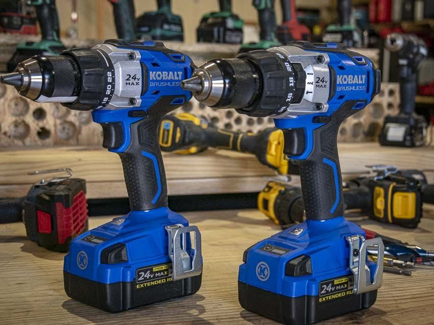 Kobalt 24v Drill Driver And Hammer Drill Review Drill Driver