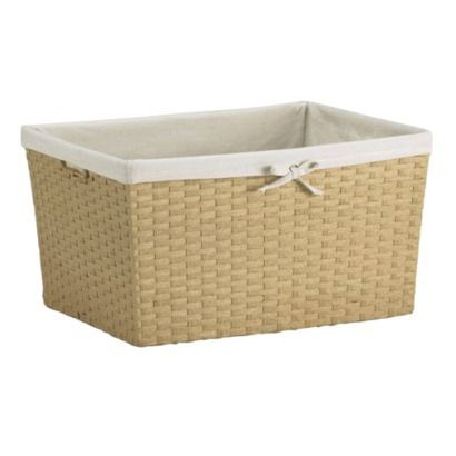 Casual Home Paper Rope Storage Basket  Large From Target (2 Fit Perfectly  Next To