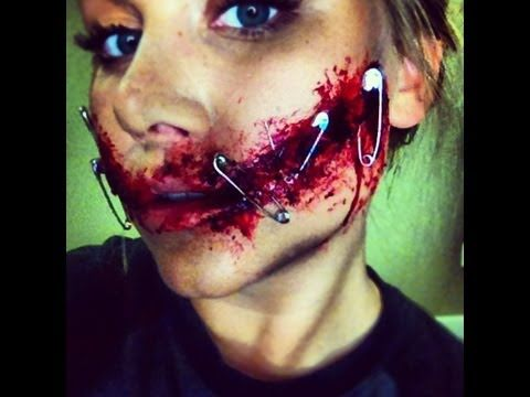 the carver makeup tutorial (nip/tuck inspired) - YouTube ...