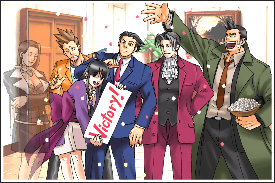 Turnabout Goodbyes Phoenix Wright Attorneys Ace