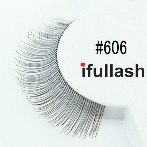 5633099b3e3 IFULLASH Eyelashes. 100% Human Hair. Premium Quality. 6 Pair. - *