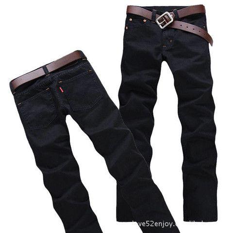Slim Fit Brand Men's Jeans – teeteecee - fashion in style