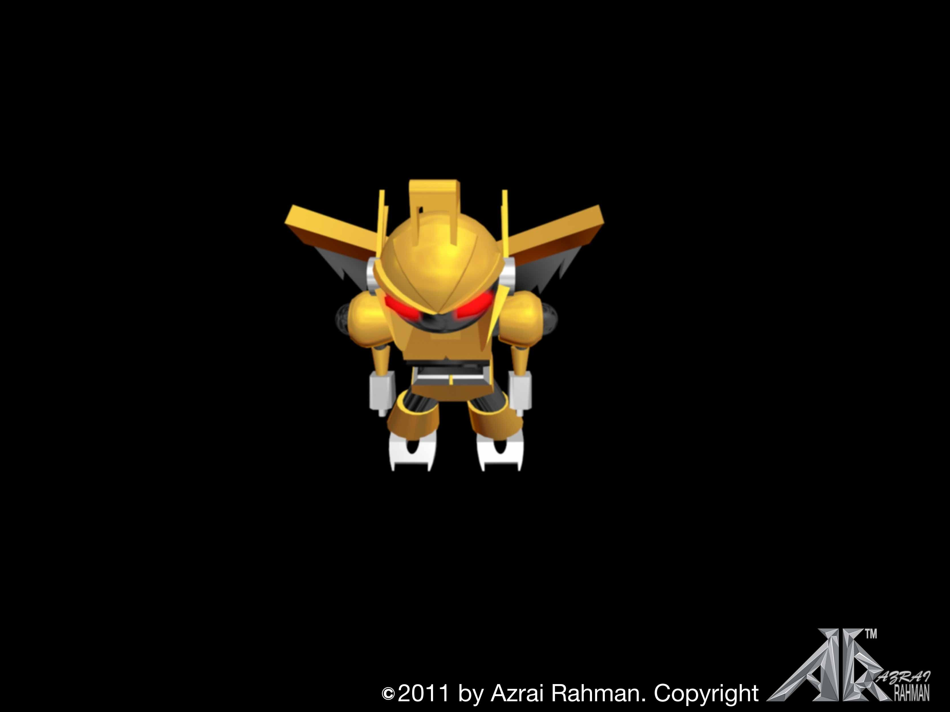 TITLE YELLOW ROBO SOFTWARE USED AUTODESK 3D MAX 2010