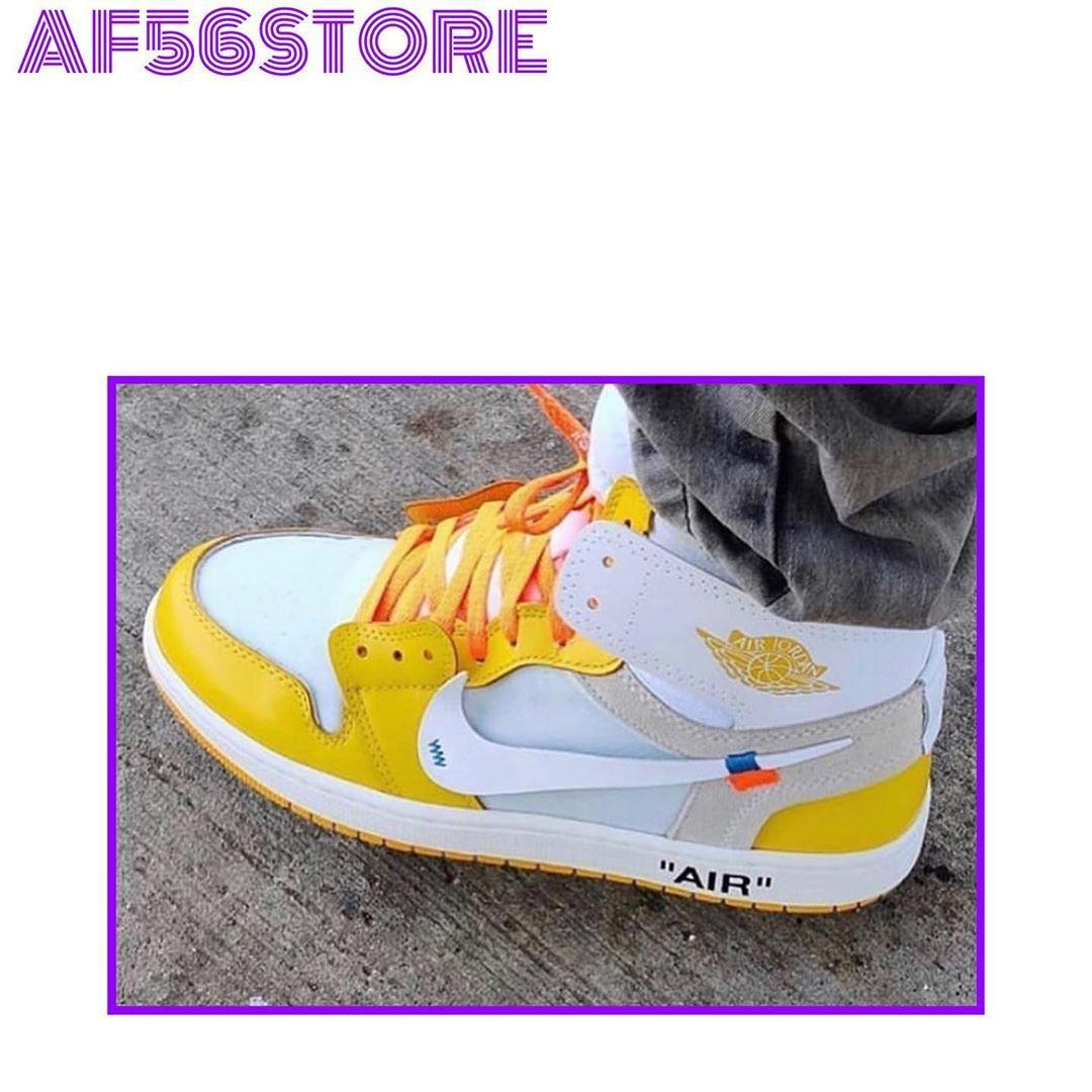 Hiếu Adli Kullanicinin Air Jordan X Off White 1 Canary Yellow