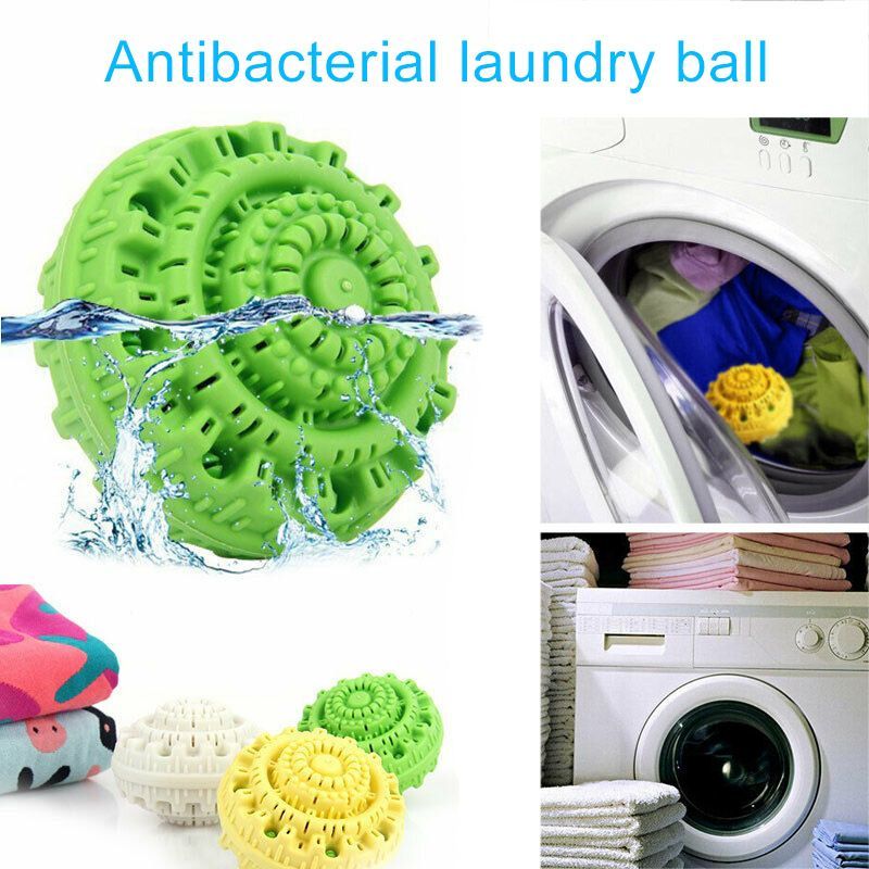 Antibacterial Laundry Super Wash Ball Eco Friendly Tpr Wash Ball